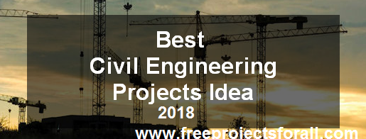 Civil Project Idea 2019 2020 Free Projects For All